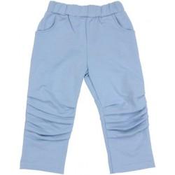 Bavlněné tepláčky, kalhoty Boy - modré