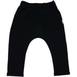 Bavlněné tepláčky Elephant - černé
