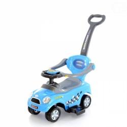 Jezdítko,odstrkovadlo, odrážedlo 3v1 AUTÍČKO - modré