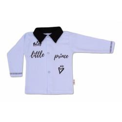 Bavlněná košilka Little Prince - modrá