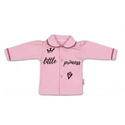 Bavlněná košilka Little Princess - růžová