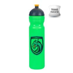 Zdravá láhev - 1l - Drak - zelená