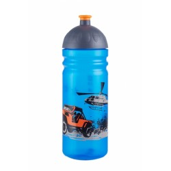 Zdravá láhev - 0.7l - Jeep, modrá