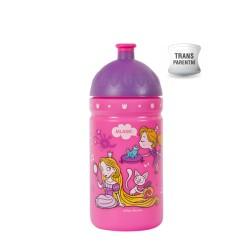 Zdravá láhev - 0.5l - Svět princezen, růžová