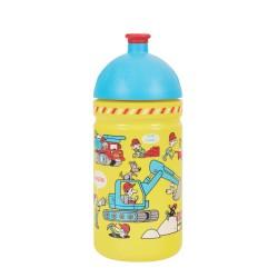 Zdravá láhev - 0.5l - Stavba, žlutá