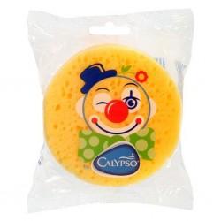 Koupelová houba Klaun Calypso žlutá, Žlutá
