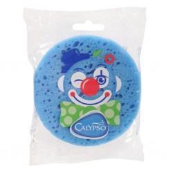 Koupelová houba Klaun Calypso modrá, Modrá