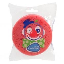 Koupelová houba Klaun Calypso tmavě růžová, Růžová