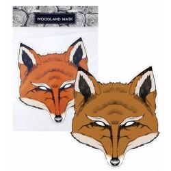 Maska papírová, liška