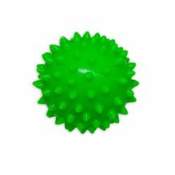 Barevný míček/ježek, 1ks v krabičce - zelený