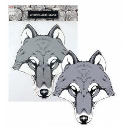Maska papírová, vlk