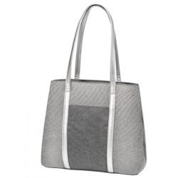 Taška ke kočárku Baby Ono Basic So Dynamic - šedá/stříbrná