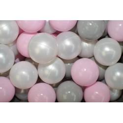 Náhradní balónky do bazénu - 200 ks, mix III