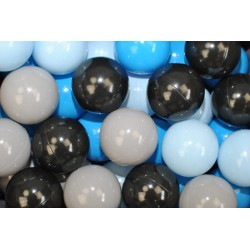 Náhradní balónky do bazénu -200 ks, mix IV