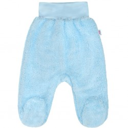 Zimní polodupačky New Baby Nice Bear modré, Modrá, 56 (0-3m)