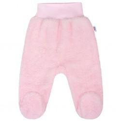 Zimní polodupačky New Baby Nice Bear růžové, Růžová, 56 (0-3m)