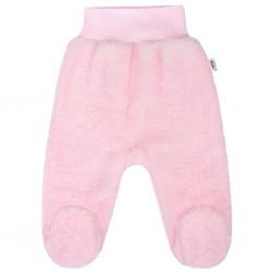 Zimní polodupačky New Baby Nice Bear růžové, Růžová, 62 (3-6m)