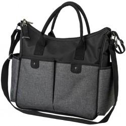 Stylová taška na kočárek BASIC SO CITY Baby Ono černá, Černá