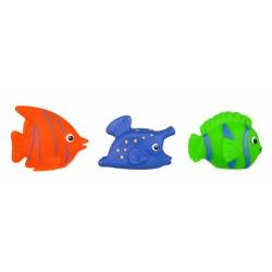Gumové zvířátka do vody - rybičky, 3ks v balení