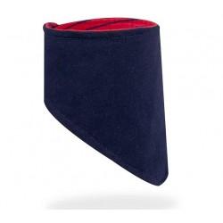 Dětský šátek na krk YO ! - granátová