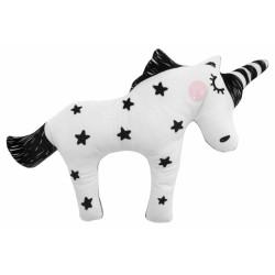 Plyšový jednorožec Unicorn 40cm - black stars