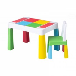 Sada nábytku pro děti Multifun - stoleček a židlička - barevná