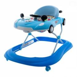 Multifunkční chodítko s volantem - modré