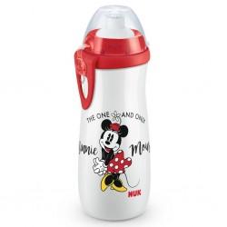 Dětská láhev NUK Sports Cup Disney Mickey 450 ml red, Červená