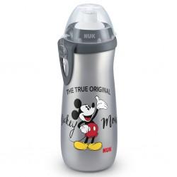 Dětská láhev NUK Sports Cup Disney Cool Mickey 450 ml grey, Šedá