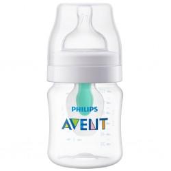Kojenecká láhev Avent Anti-colic s ventilem AirFree 125 ml, Transparentní