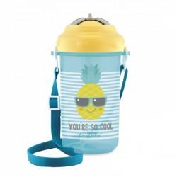 Canpol babies Sportovní láhev se slámkou So Cool - Ananas