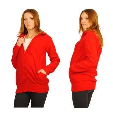 Těhotenská mikina  - ruda/koral