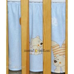 Krásný volánek pod matraci - Balónek modrý