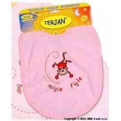 Bryndáček TERJAN - velký - růžový