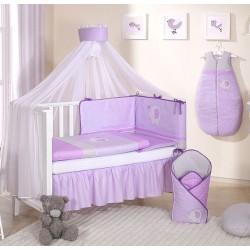 Mega set s moskytiérou LUX SLON - fialový