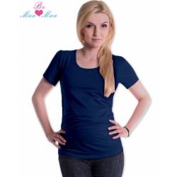 Triko JOLY bavlna nejen pro těhotné - navy jeans