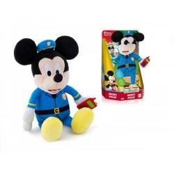 Mickey Mouse Clubhouse plyšový policista 30cm na baterie se zvukem v krabičce 12m+