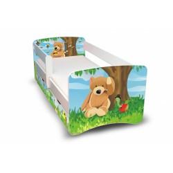 Dětská postel Medvídek II. s šuplíkem