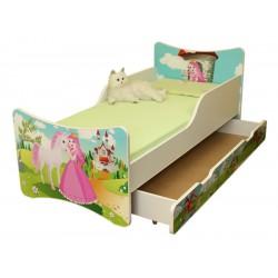 Dětská postel a šuplík/y