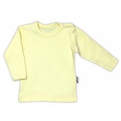 Bavlněná košilka - žlutá