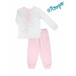 Dětské pyžamo Nicol, Baletka - šedo/růžové