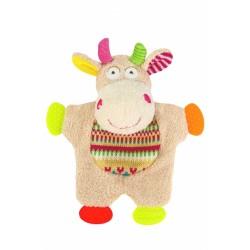Edukační hračka Baby Ono - chrastítko Kravička