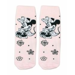 Bavlněné ponožky Disney Minnie  - sv. růžové
