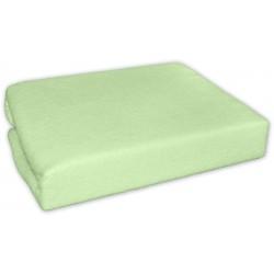 Jersey prostěradlo - Zelené/pistaciové/hráškově zelená - 120x60