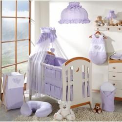 Lustr do dětského pokojíčku - Srdíčko lila