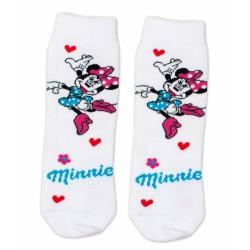 Bavlněné ponožky Disney Minnie  - bílé