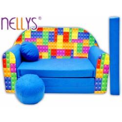 Rozkládací dětská pohovka Nellys ® 65R