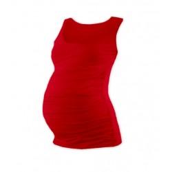 Těhotenský top JOHANKA - červená