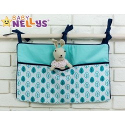 Praktický kapsář na postýlku Baby Nellys ® - č. 07