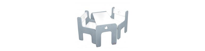 Psací stoly, stolečky, židličky